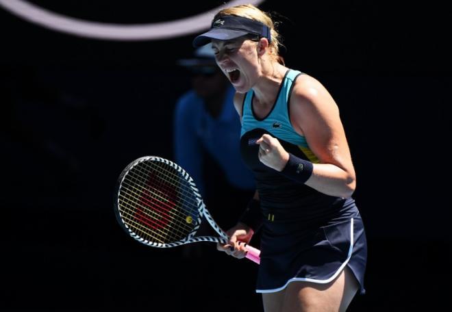 Anastasia Pavlyuchenkova s'est qualifiée pour les 1/8èmes de finale à Melbourne - © DR