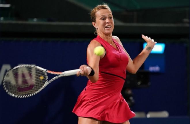 Anastasia Pavlyuchenkova a battu la tête de série n°2, Kiki Bertens en 1/8èmes - © DR