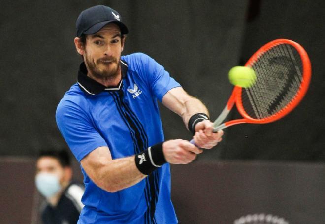Andy Murray s'est montré très solide ce mardi soir face à Ugo Humbert - © Abaca - Icon Sport