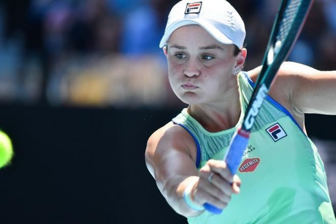 Ashleigh Barty poursuit son sans fautes à l'Open d'Australie  - © Iconsport