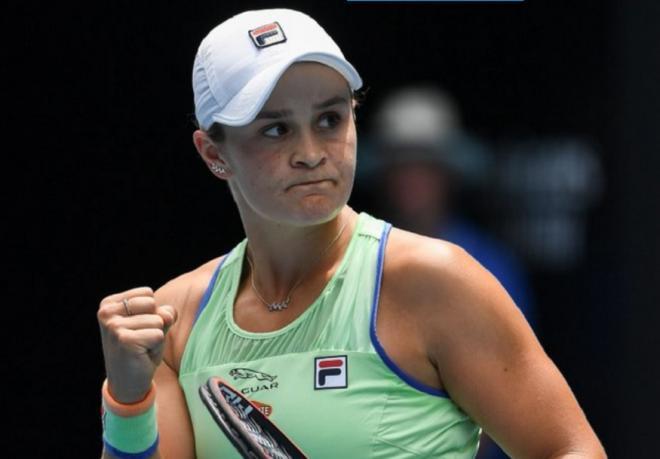 Ashleig Barty aura l'occasion de prendre sa revanche sur Petra Kvitova en 1/4 à Melbourne grâce à sa victoire difficile face à Alison Riske ce dimanche - © DR