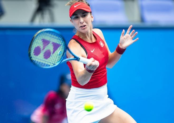 Belinda Bencic est la nouvelle championne olympique en simple - © De Fodi Images - Icon Sport
