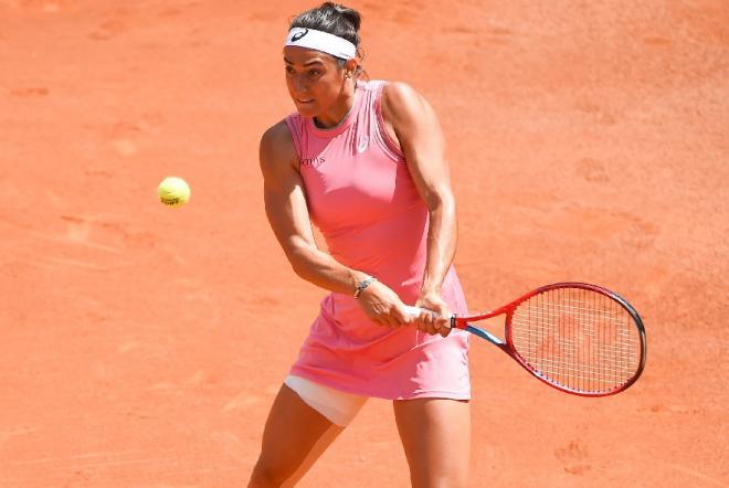 Caroline Garcia a livré un match solide ce mercredi à Parme - © Abaca - Icon Sport