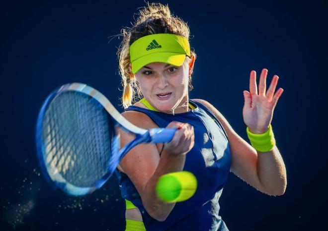 Clara Burel s'est inclinée en finale du tournoi WTA de Lausanne, ce dimanche - © Belga - Icon Sport