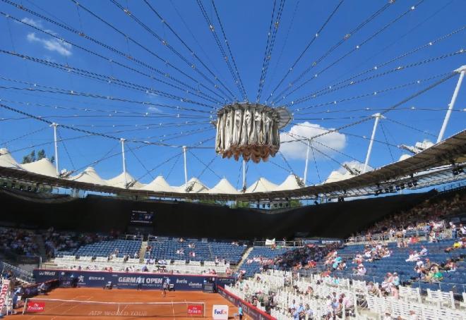 Comme 11 autres tournois prévus en juillet, le tournoi ATP 500 de Hambourg est ajourné - © DR
