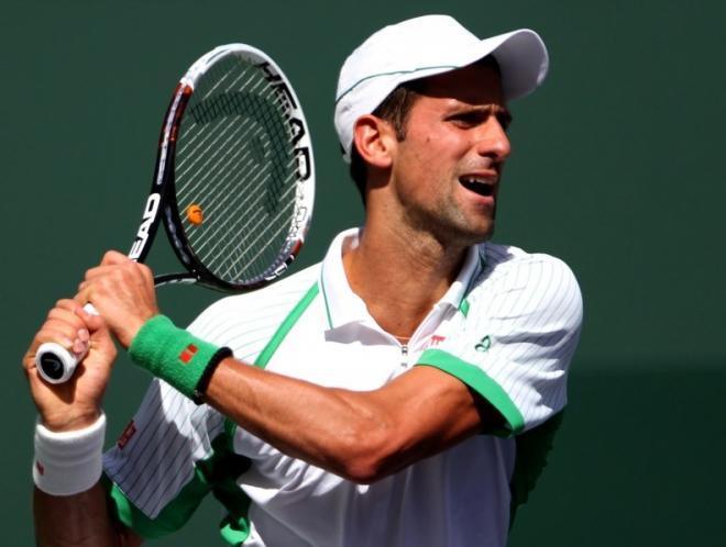 Novak Djokovic a été sorti par Juan Martin Del Potro en demi-finales à Indian Wells - © Icon Sport