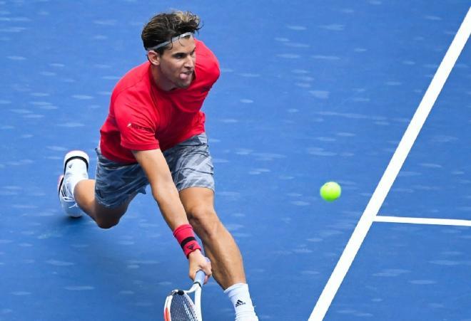 C'est terminé pour Dominic Thiem dans cet Open d'Australie - © Susa - Icon Sport
