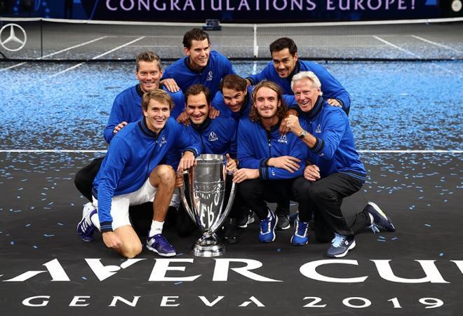 La Team Europe est la grande gagnante de l'édition 2019 de la Laver Cup - © DR