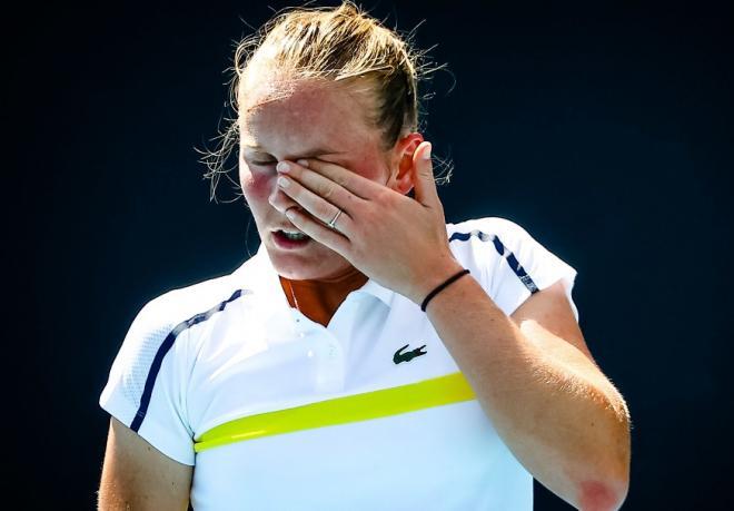 Fiona Ferro enchaîne les mauvais résultats depuis son 1/4 à Lausanne en juillet  - © Belga - Icon Sport