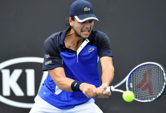 Barrere s'est qualifié ce lundi pour le 2ème tour de l'Open d'Australie, son quatrième d'affilée en Grand Chelem. - © DR
