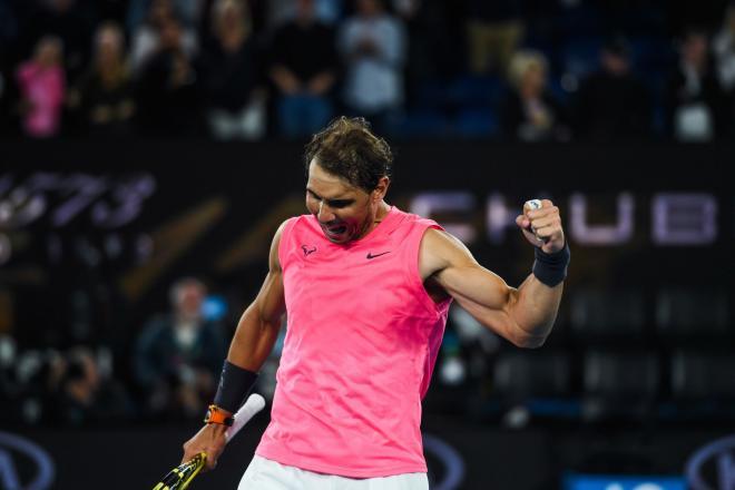 Rafael Nadal s'est tranquillement qualifié pour les 1/8ème de finale de l'Open d'Australie - ©DR