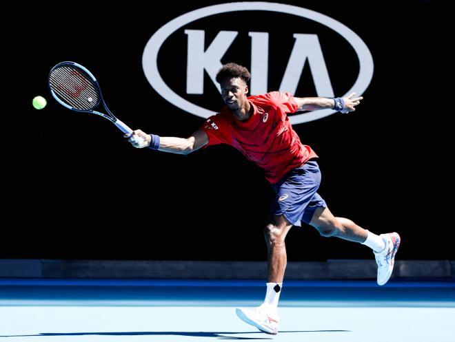 Gaël Monfils n'a pas existé en 1/8èmes de finale de l'Open d'Australie  - ©DR