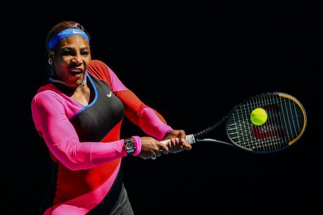 Serena Williams a impressionné ce mardi par sa puissance physique  - © Iconsport