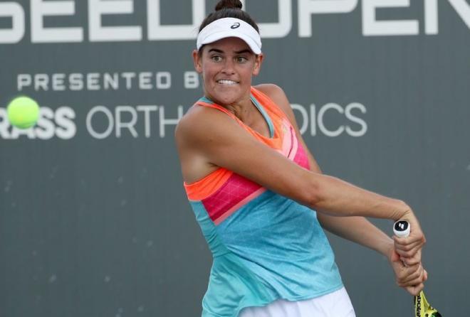 Jennifer Brady n'a toujours pas perdu un set dans cet US Open 2020 - © DR