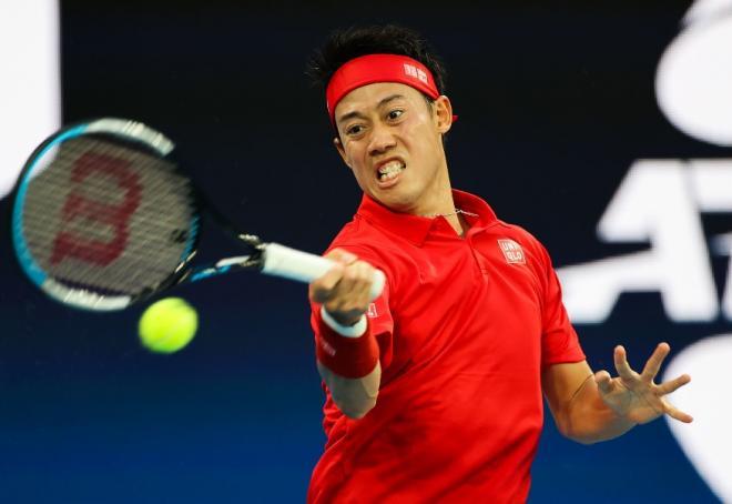 Bonne entrée de Kei Nishikori ce ludni au tournoi ATP de Washington - © Susa - Icon Sport