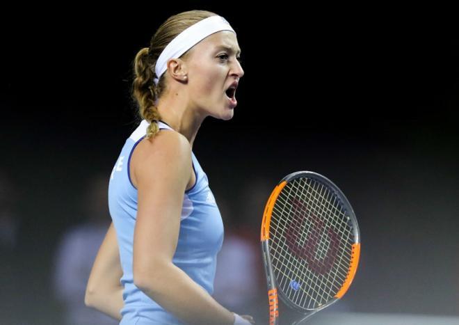 Kristina Mladenovic et l'Equipe de France de Fed Cup défendront leur titre en 2021.  - © DR