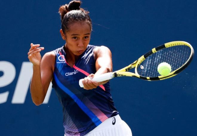 Magnifique parcours de Leylah Fernandez à l'US Open - © Susa - Icon Sport