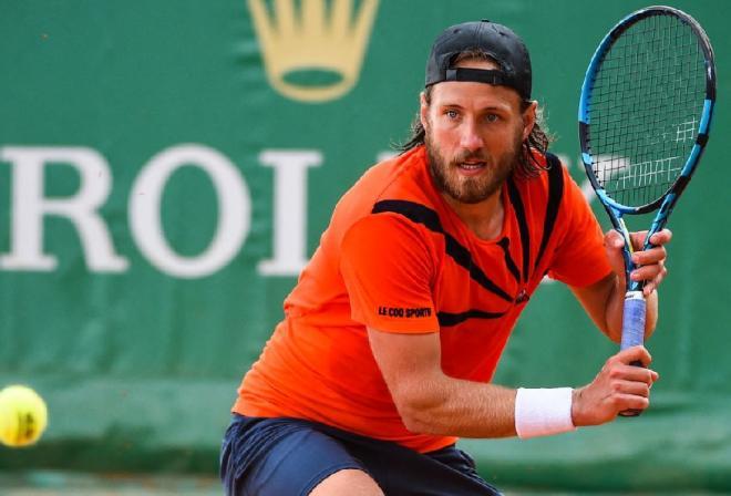 Lucas Pouille a été stoppé en 1/8èmes de finale à Monte-Carlo  - © Abaca - Icon Sport