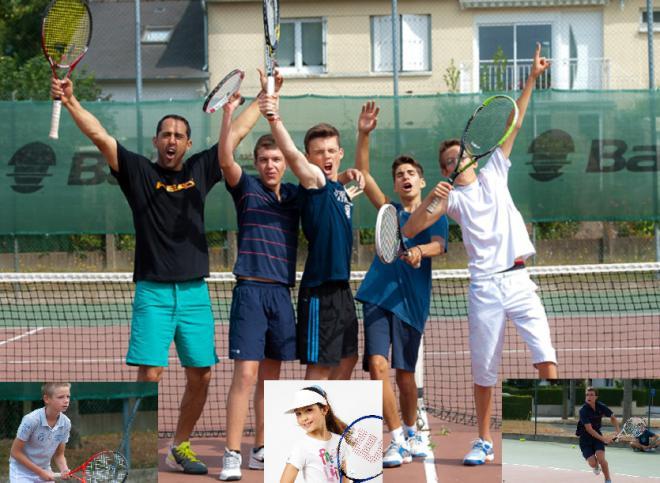 De 7 à 15 ans, Telligo propose différents types de Stages de Tennis  - © DR