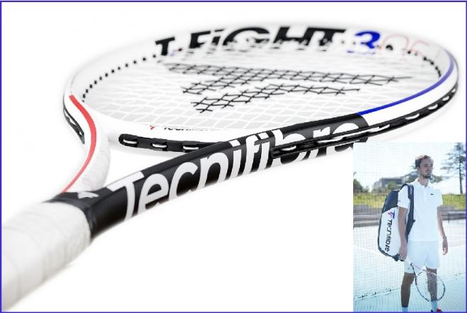 Gros plan de nouvelle T-Fight RS de Tecnifibre dont la sortie officielle est effective depuis ce lundi 24 août - © Tecnifibre