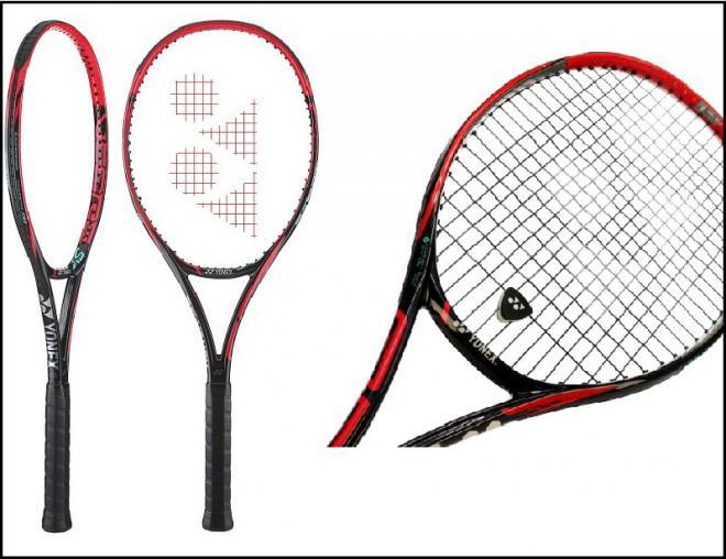 Vues de face et de profil de la raquette V CORE SV 95  - © DR