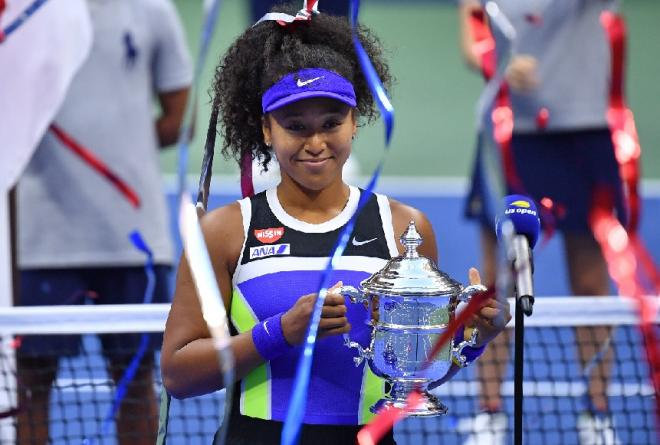 Naomi Osaka a remporté son 2ème US Open ce samedi face à Azarenka - © Peter Staples - USTA