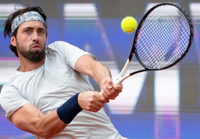 Nikoloz Basilashvili a remporté son second titre de la saison ce dimanche - © Picture Alliance - Icon Sport