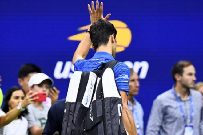 Comme l'an dernier, où il avait abandonné vs Wawrinka, Djokovic quitte l'US Open en 1/8èmes de finale - © DR