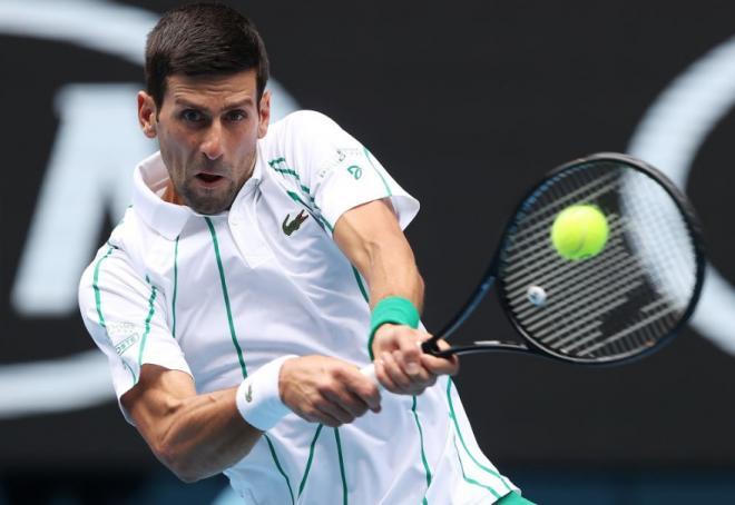 Novak Djokovic a été testé positif au Covid-19.  - © DR