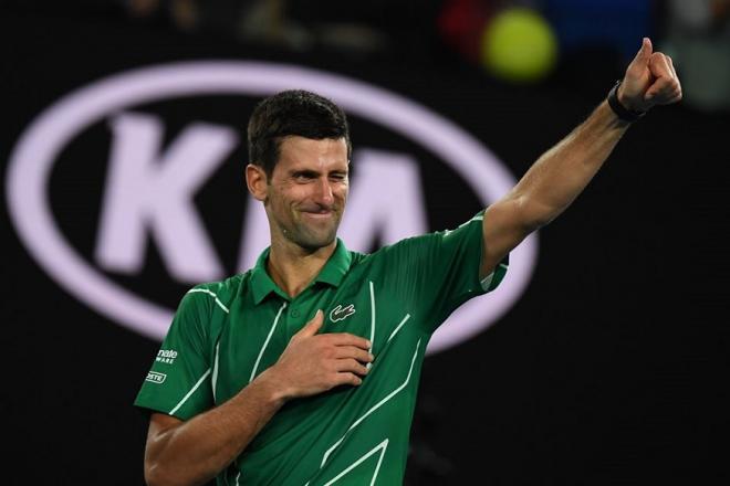 Novak Djokovic a logiquement battu Milos Raonic ce mardi pour se hisser en 1/2 à Melbourne où il retrouvera Roger Federer - © DR