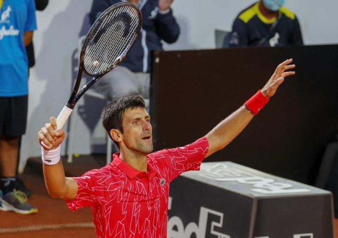 Novak Djokovic a remporté son 5ème masters 1000 de Rome ce lundi - © DR