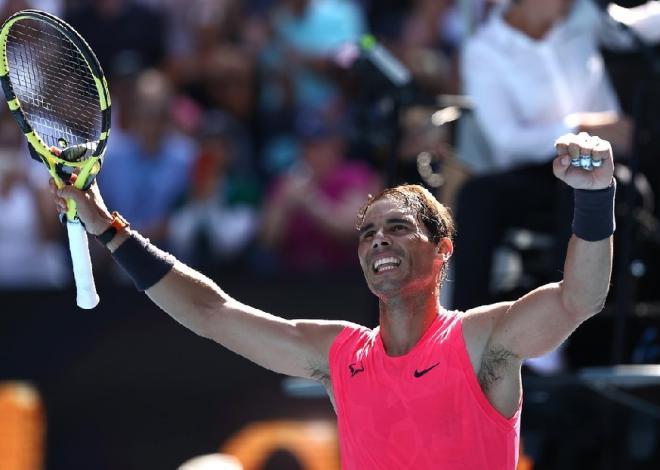 Rafael Nadal s'est qualifié sans forcer pour son entrée en lice à l'Open d'Australie ce mardi - © DR