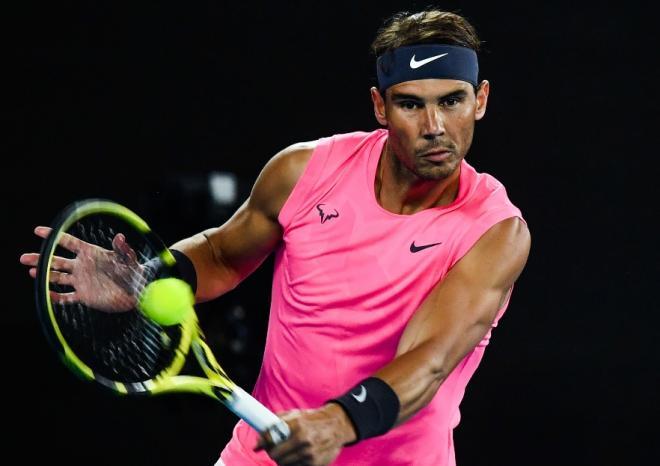 Rafael Nadal s'est qualifié sans forcer pour le deuxième tour de l'Open d'Australie  - © Susa - Icon Sport