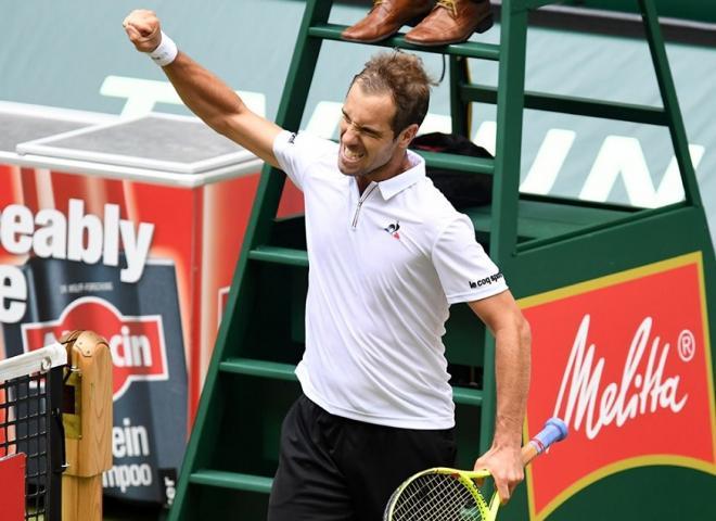 Richard Gasquet s'est offert Dominic Thiem ce samedi à l'Ultimate Tennis Showdown (UTS). - © DR