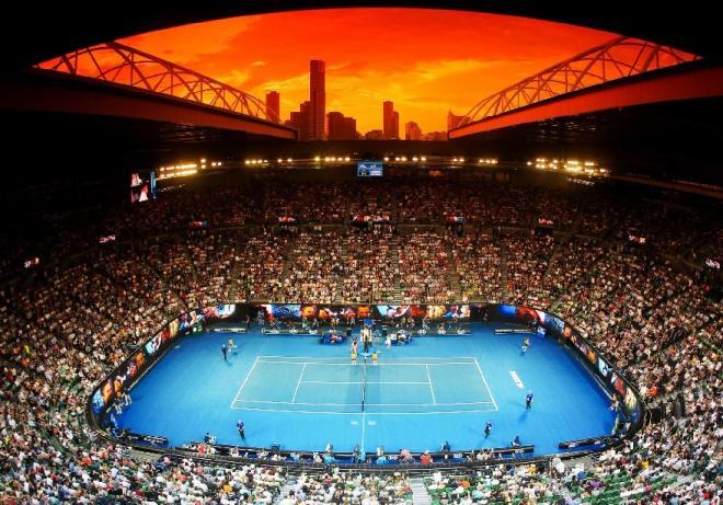 La Rod Laver Arena à Melbourne qui devrait accueillir du public dès ce lundi - © Gepa - Icon Sport