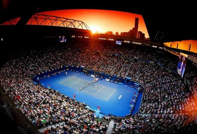 La Rod Laver Arena où vont se disputer la plupart des finales de l'Open d'Australie - © DR