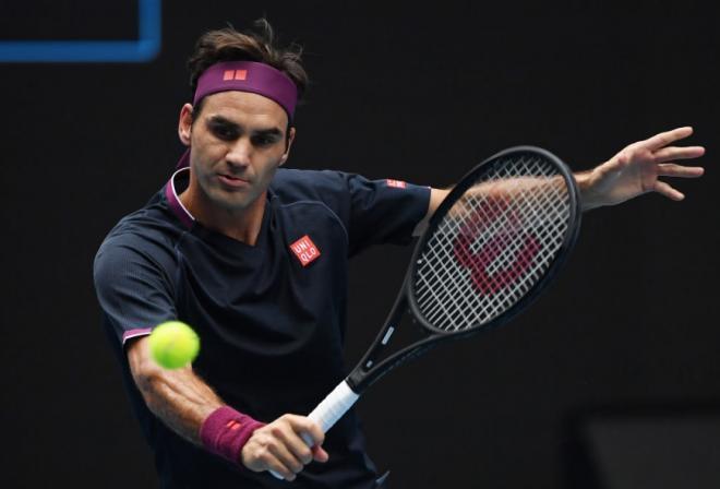 Roger Federer a maîtrisé sa rencontre face à Steve Johnson ce lundi et s'est qualifié pour le 2ème tour de l'Open d'Australie - © DR