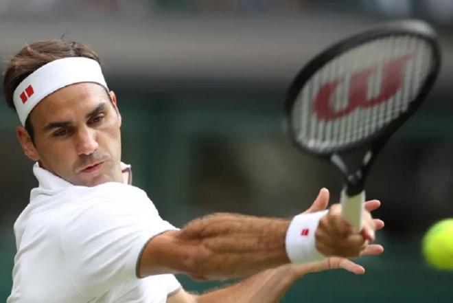 Roger Federer à Wmbledon. Une image que l'on devrait revoir en 2021 - © DR