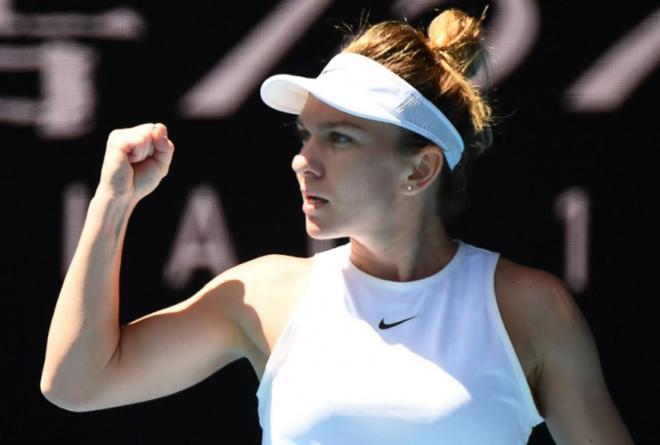 Simona Halep est la seule joueuse à n'avoir cédé aucun set à l'Open d'Australie - ©DR