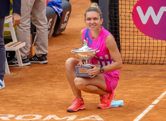 Pour la première fois en carrière, Simona Halep s'est imposée à Rome - © DR