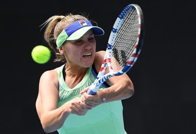 Sofia Kenin a rallié ce mardi les 1/2 de l'Open d'Australie en battant facilement la Tunisienne Ons Jabeur - © DR
