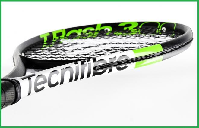 La nouvelle T-Flash de Tecnifibre en gros plan qui est sortie il y a quelques semaines - © Tecnifibre