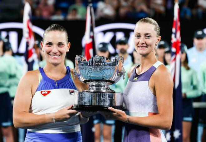 Mladenovic/ Babos ont récupéré leur titre en finale de l'Open d'Australie - ©DR