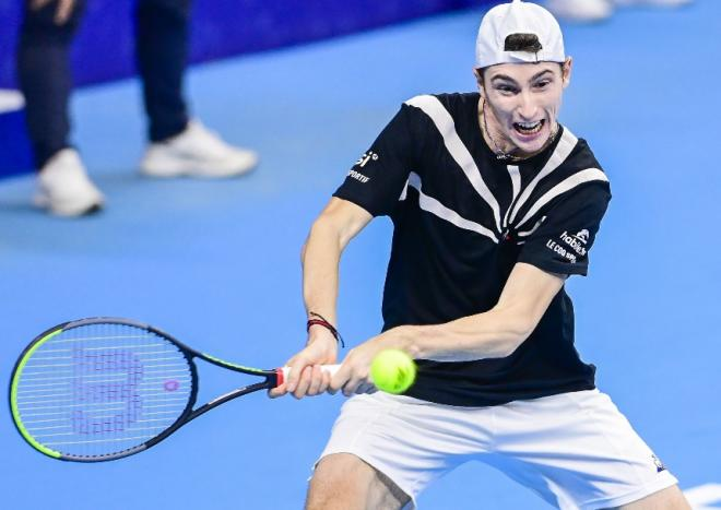 Ugo va participer à l'opération Tennis Solidaire - © Belga - Icon Sport