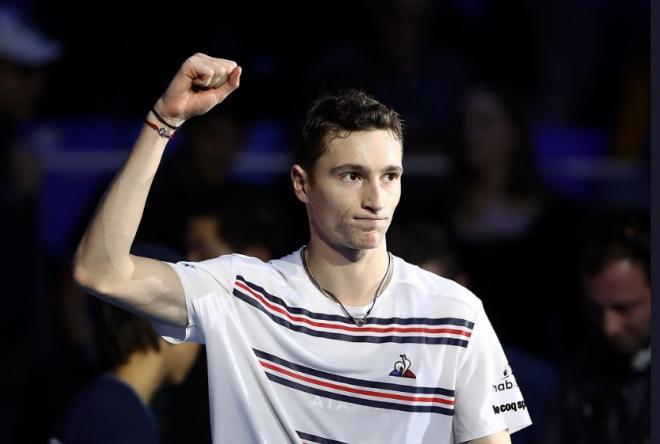 Ugo Humbert a remporté son 2ème titre de la saison à Anvers ce dimanche - © DR