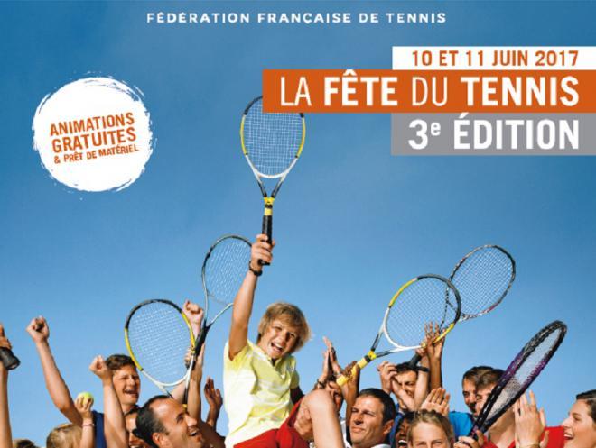 La 3ème édition de la fête du tennis se déroule les 10 et juin prochains - © fft
