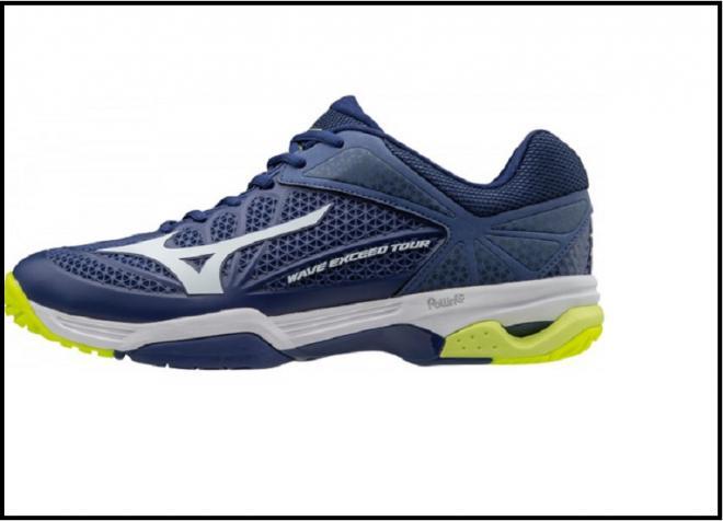 La nouvelle chaussure Mizuno Exceed Tour 2 - © DR
