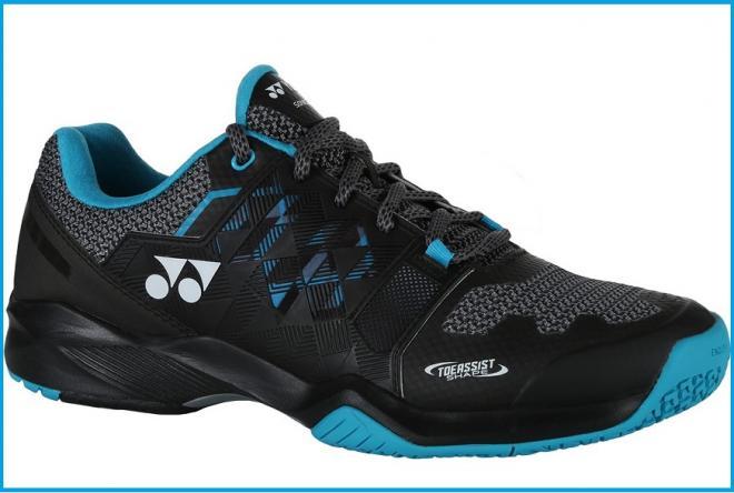 La nouvelle chaussure Power Cushion Sonicage de Yonex : légère et comfortable - © DR